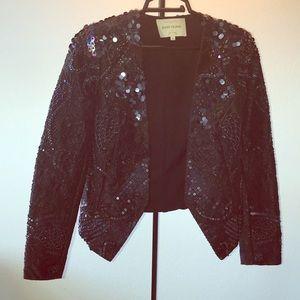 Black Classy stitched Blazer